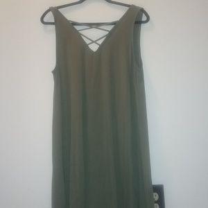 Super Cute Navy Green Tank top/dress